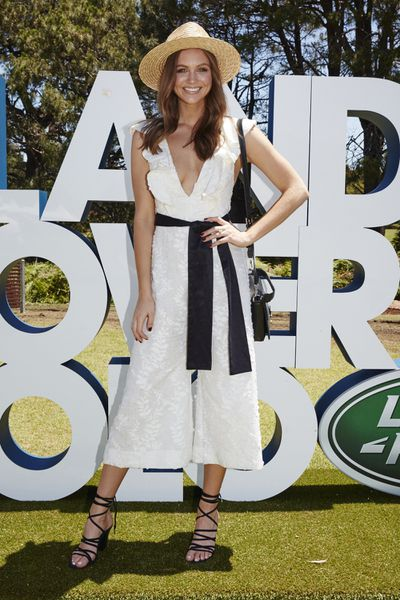 <p>Style Winner</p> <p>Ksenija Lukich in Zimmermann dress, Lack of Color hat and Solsana shoes</p>