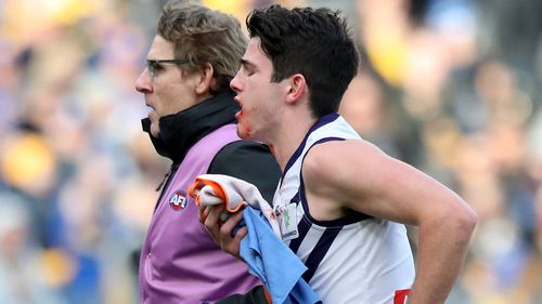 He said he's willing to sit down with Gaff. Picture: 9NEWS