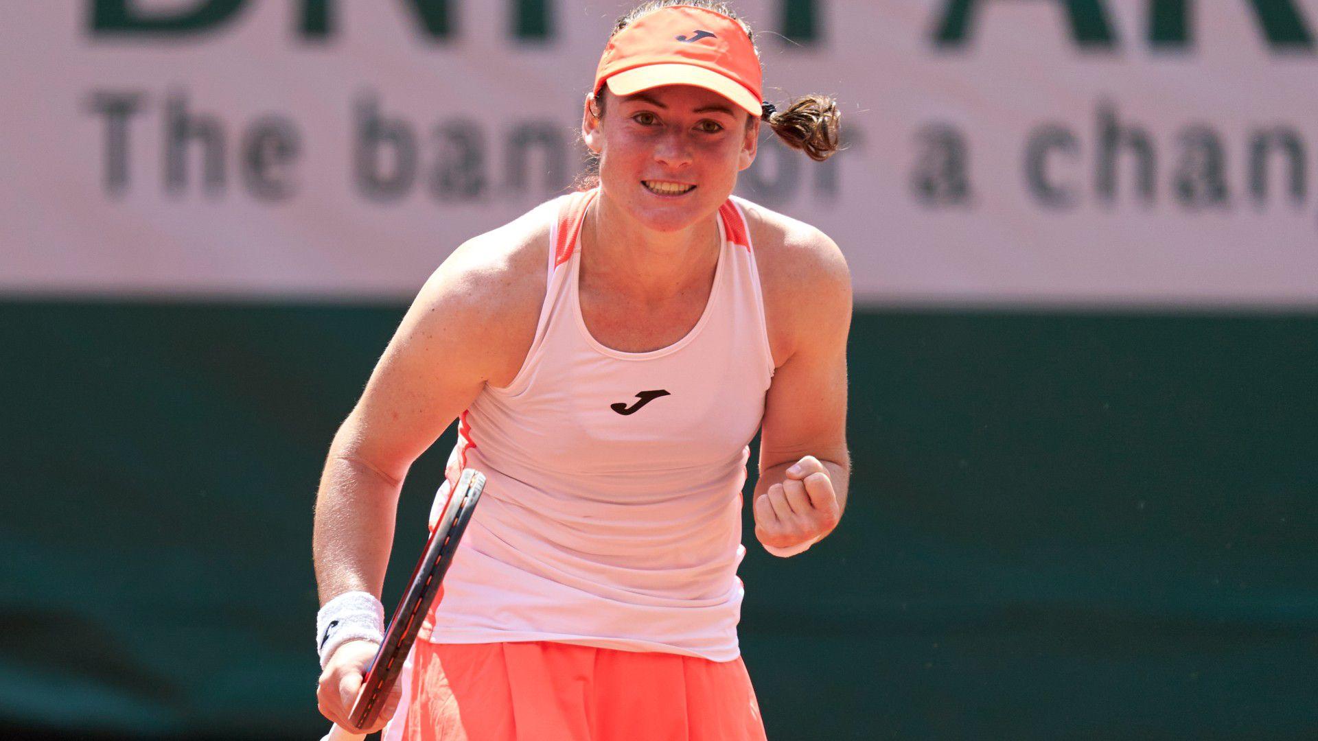 Tamara Zidansek and Anastasia Pavlyuchenkova reach semi-finals at Roland Garros