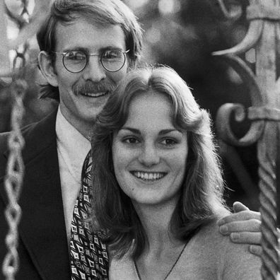 Patty Hearst and her former partner Steve Weed