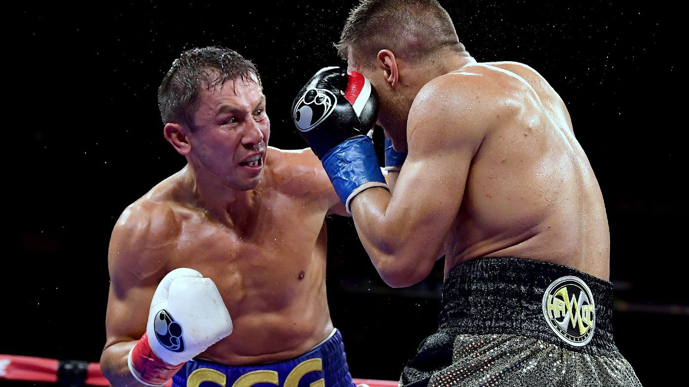 Golovkin regains middleweight boxing title with defeat of Derevyanchenko