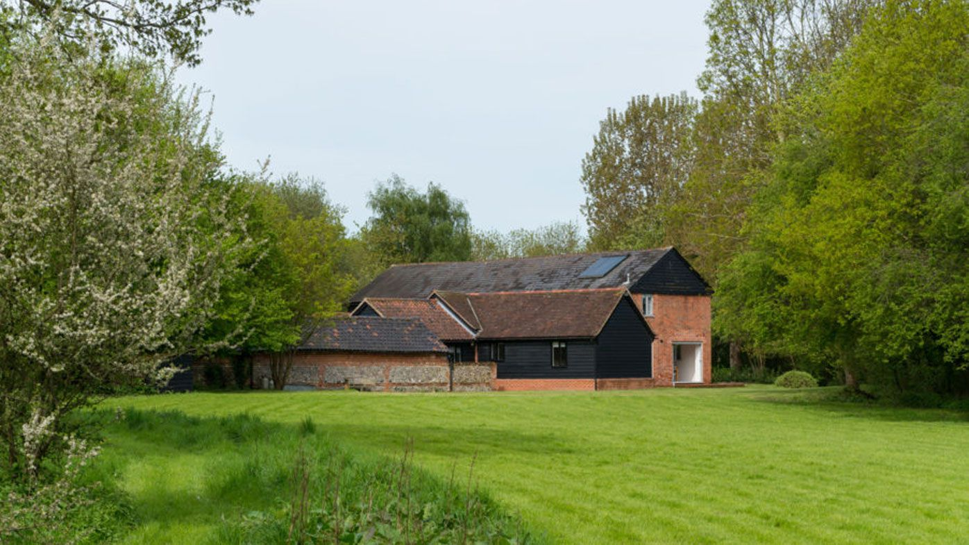 British barn conversion