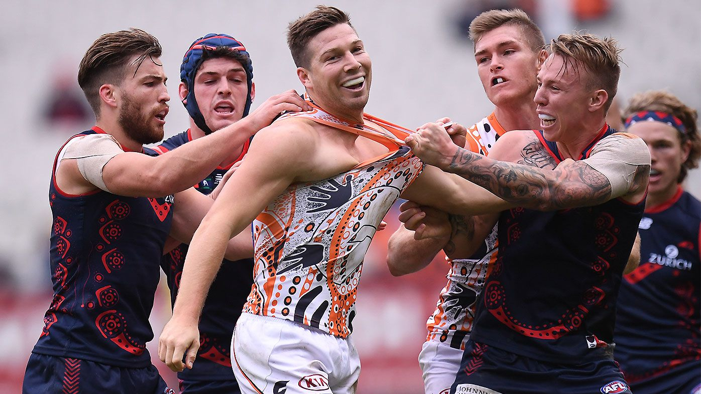 GWS Giants star Toby Greene vows to bring aggression to AFL Grand Final despite ban