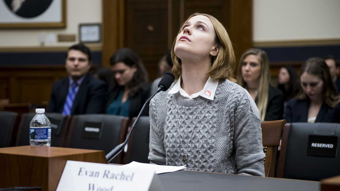 'Westwood' star Evan Rachel Wood speaks to Congress about sexual abuse