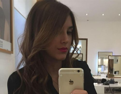 Daniela Ospina's new look . (Twitter)
