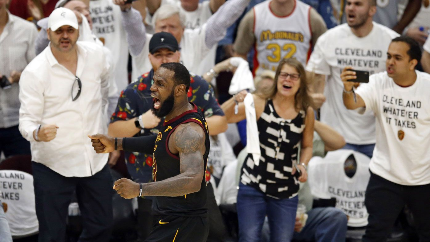 LeBron James turns in all-time performance in Cleveland Cavaliers' Game 6 victory