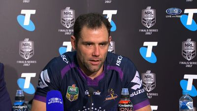 NRL Finals: Melbourne Storm captain Cameron Smith wants to send Cooper Cronk out a winner at grand final