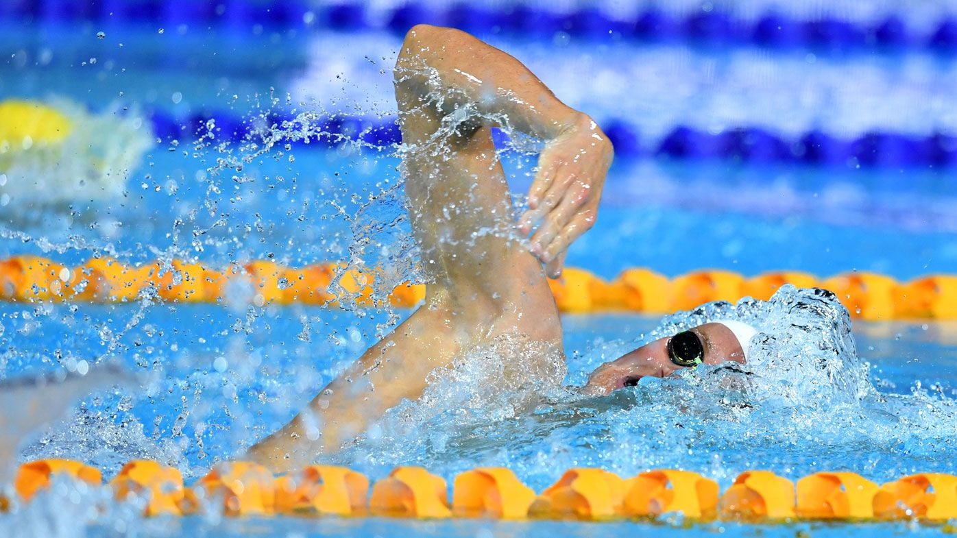 Australian swimmer Mack Horton stung by bee but avoids Commonwealth Games buzz