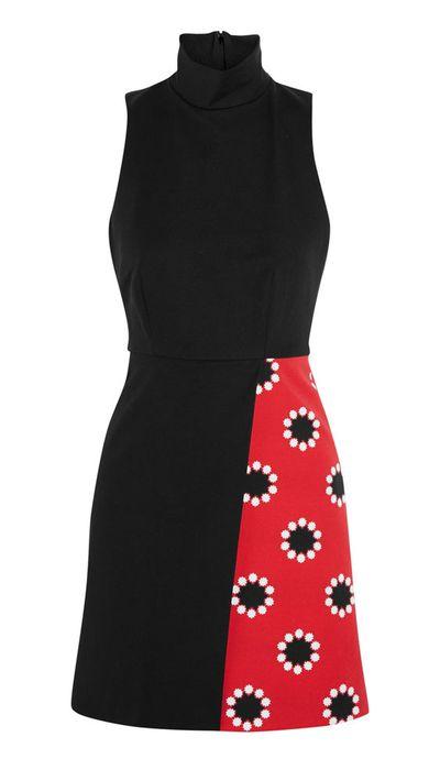 "<a href=""http://www.theoutnet.com/en-AU/product/Matthew-Williamson/Printed-stretch-cotton-dress/559898"">Printed Stretch-Cotton Dress, approx. $615, Matthew Williamson</a>"
