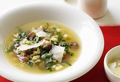 "Recipe:<a href="" /recipes/ibean/8298254/ditalini-borlotti-bean-and-cavolo-nero-soup "" target=""_top"" draggable=""false"">Ditalini, borlotti bean and cavolo nero soup<br /> </a>"