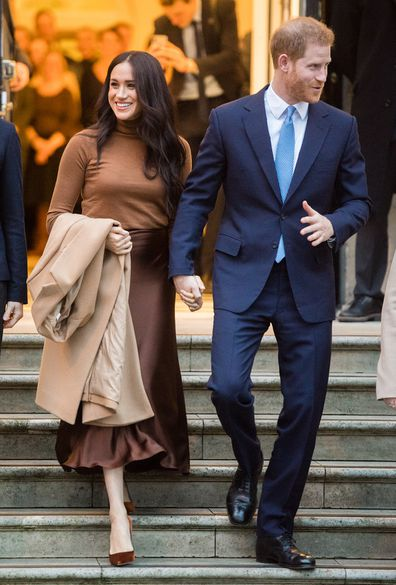 Meghan and Harry recent split from royal family