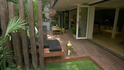 Dea and Darren's Outdoor Terrace on Triple Threat