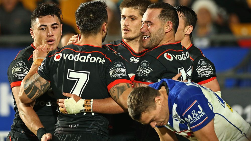 Warriors down Bulldogs in tight NRL battle