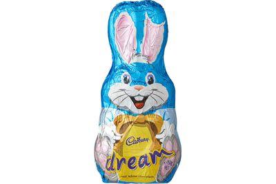 Cadbury Dream white chocolate bunny: 75 minutes of vigorous weight-lifting