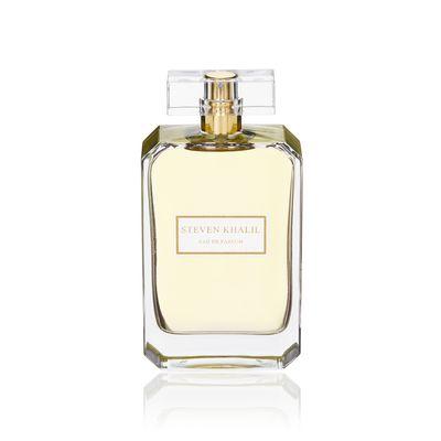 """<p><em>For Day</em></p> <p><a href=""""http://www.stevenkhalil.com/parfum/steven-khalil-eau-de-parfum"""" target=""""_blank"""" draggable=""""false"""">Steven Khalil Eau de Parfum 100ml, $190</a></p>"""