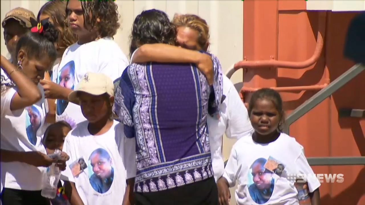 Mourners farewell woman shot by police in WA three months ago - 9News