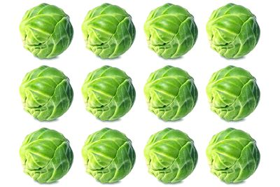 12 Brussels sprouts are 100 calories