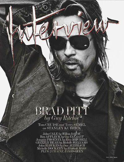 Brad Pitt,<em> Interview</em> Magazine Oct/Nov 2015