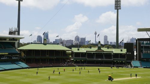 Rain could sweep the SCG in the final two days of the fifth test. (Image: AAP)