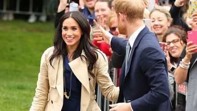 Meghan Markle and Prince Harry delight fans in Melbourne, October 2018