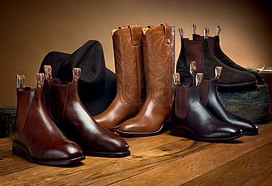 RM Williams boots (AAP)