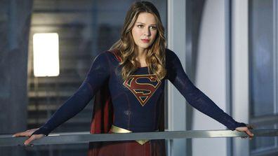 Melissa Benoist stars as Supergirl.