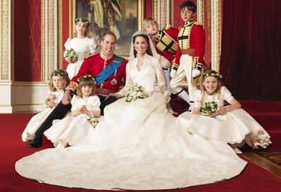 Bridal party of the 2011 Royal Wedding