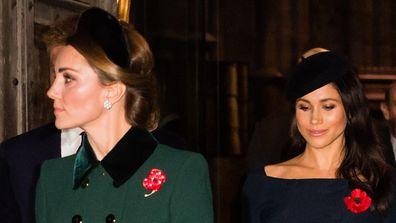Kate and Meghan feud rumours