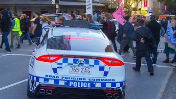 There have been more arrests at CBD protests in Brisbane this morning.