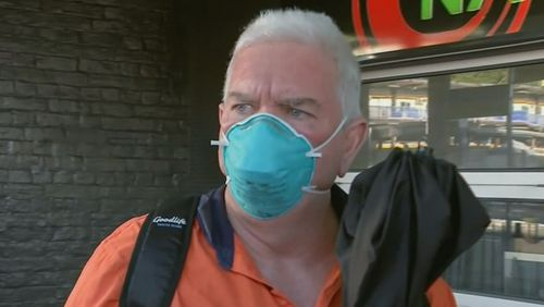 The son of Raymond Mulvihill, Ian Seeley (pictured) claims he found his father drunk with his cab the night Sharron Phillips dissapeared.