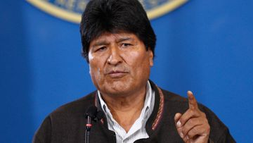 Bolivian President Evo Morales has announced his resignation, seeking to calm the country after weeks of unrest over a disputed election that he had claimed to win.