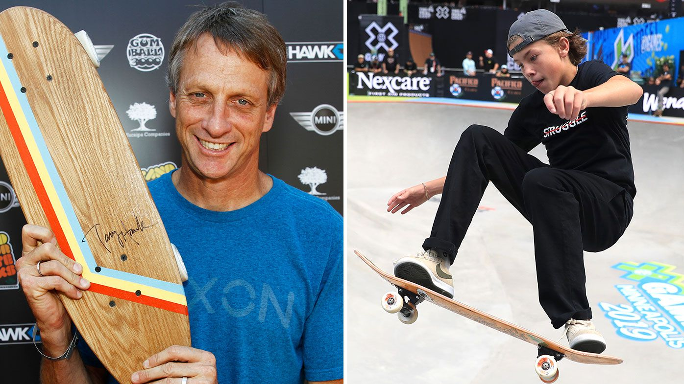 Tony Hawk, Keegan Palmer
