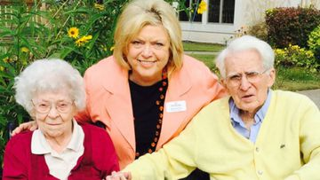 Couple Married 76 Years Share Their 100th Birthdays Together. (Lakeshore Meadows)
