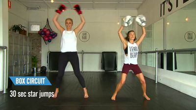 Sylvia Jeffreys reveals her 'really mean' trainer's high-intensity workout
