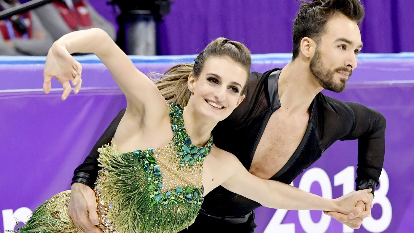 Wardrobe malfunction causes Olympic stress for French skater Gabriella Papadakis at Winter Olympics
