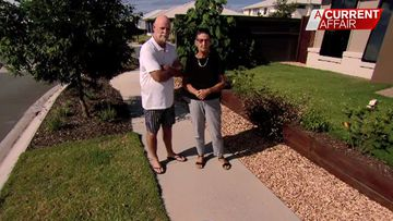 Couple face hefty fine over pebbles on their nature strip