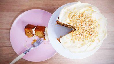 Jane de Graaff's boozy, flourless carrot cake