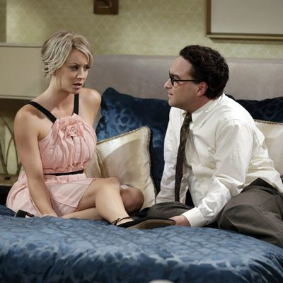 <p>Leonard and Penny may stay childless</p>