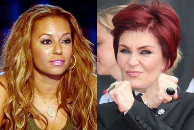 Sharon Osbourne was on the original <i>X Factor UK</i> from 2004 to 2007, and rejoined the show in 2013. Mel B started out as a guest mentor on <i>The X Factor Australia</i> in 2010, then got a permanent job on the panel until 2013, when she was banned from the series after the Nine Network booked her for <i>Australia's Got Talent</i>. In 2014, she's on Nine's <i>The Voice Kids</i>.