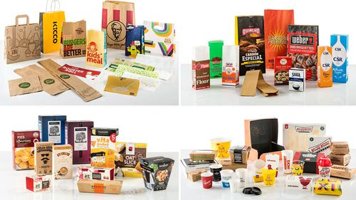 Some of the food packaging Detmold Group manufactures