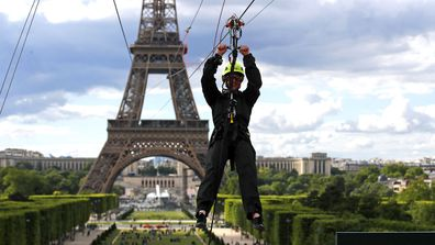 Eiffel Tower Zipline