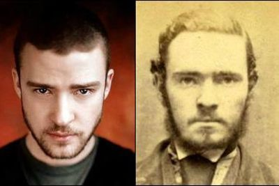 Justin Timberlake wants to rock your body ... and steal your crap. Here's his old time crim mug shot.