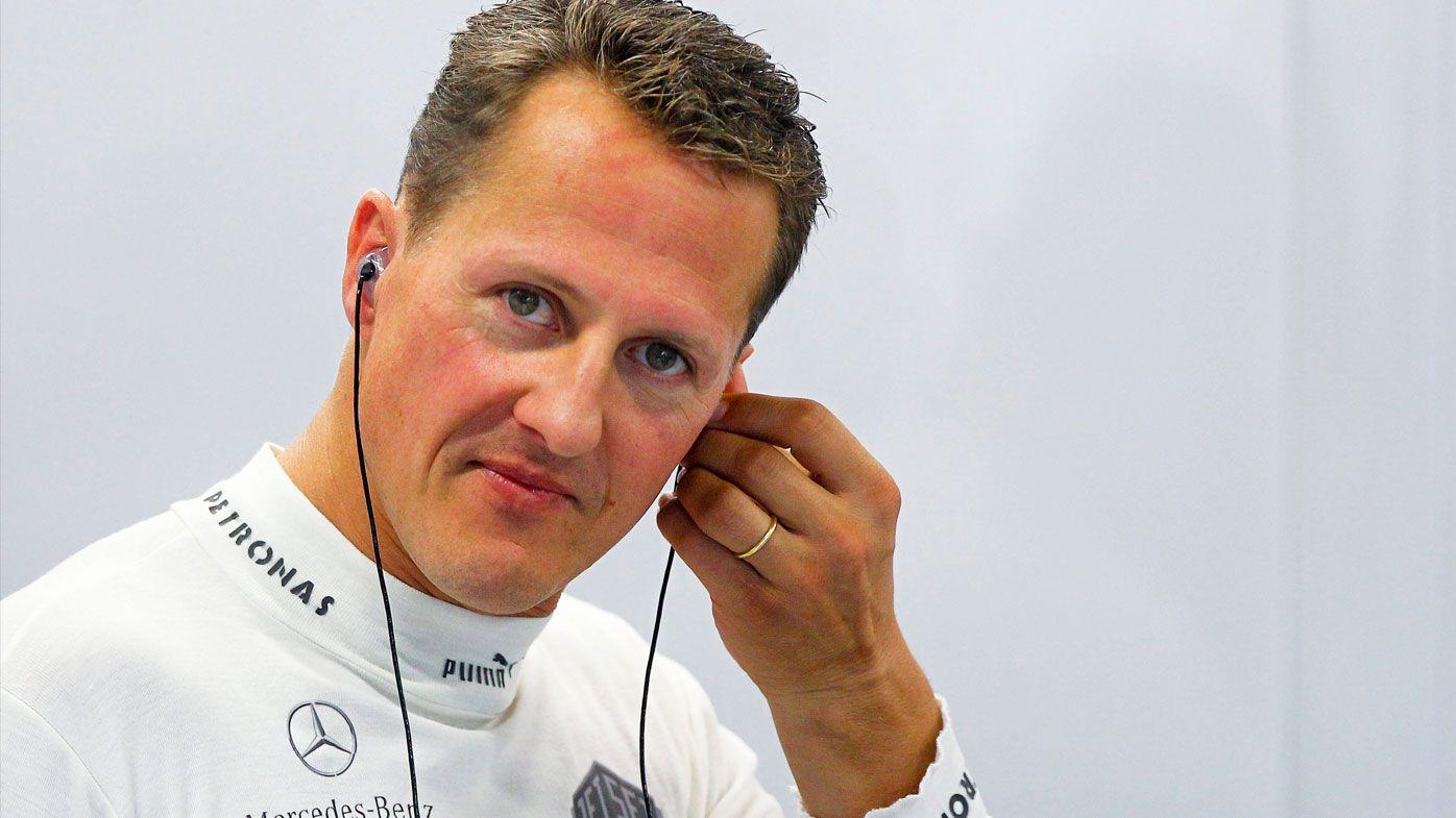 Schumacher's son Mick slams media over fake images