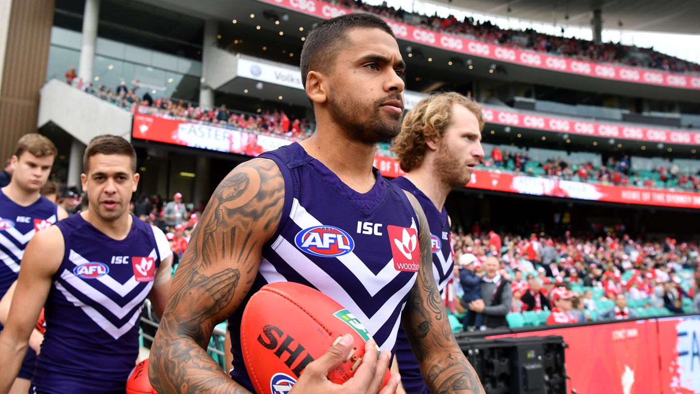 Brad Hill dumped as AFL leader at Fremantle Dockers