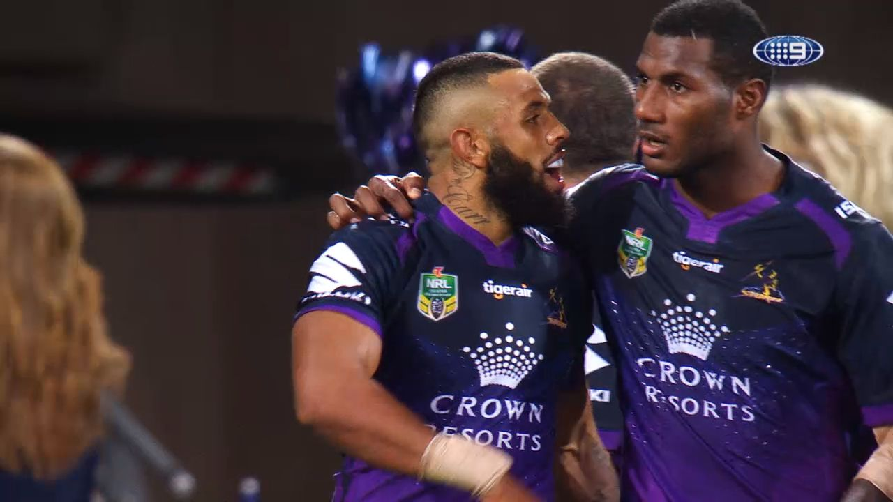 Suliasi Vunivalu vows to see out Melbourne Storm contract despite links to code switch