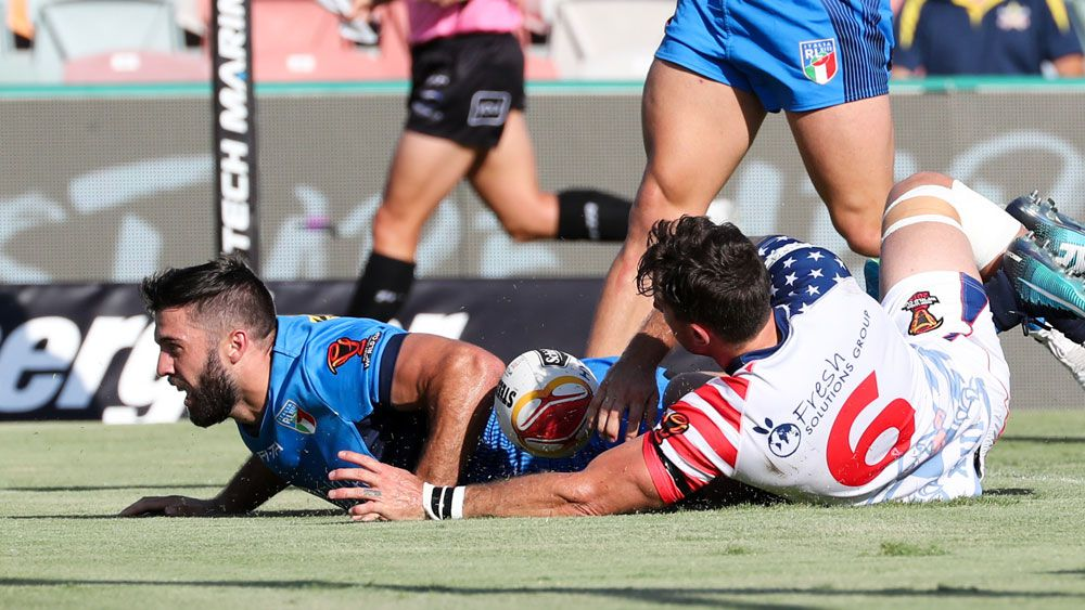 Italy finally show fight on the field to top score convincing win over USA in Townsville