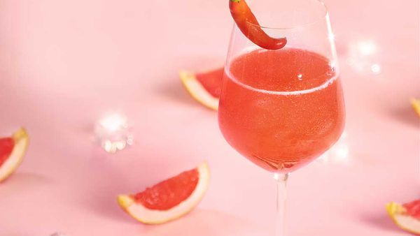 The Spark by Fernando Alonso (sparkling grapefruit cocktail) by Chandon