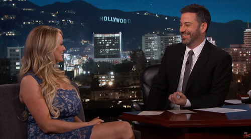 Appearing on Jimmy Kimmel Live, Stormy Daniels Clifford skirted whether she had signed a non-disclosure agreement with Donald Trump. (ABC)
