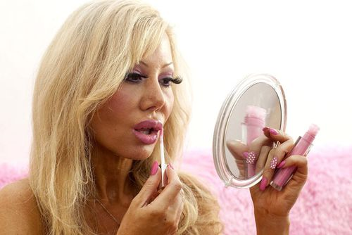 Blondie Bennett has undergone thousands of dollars worth of surgeries to resemble a human Barbie. (Supplied)