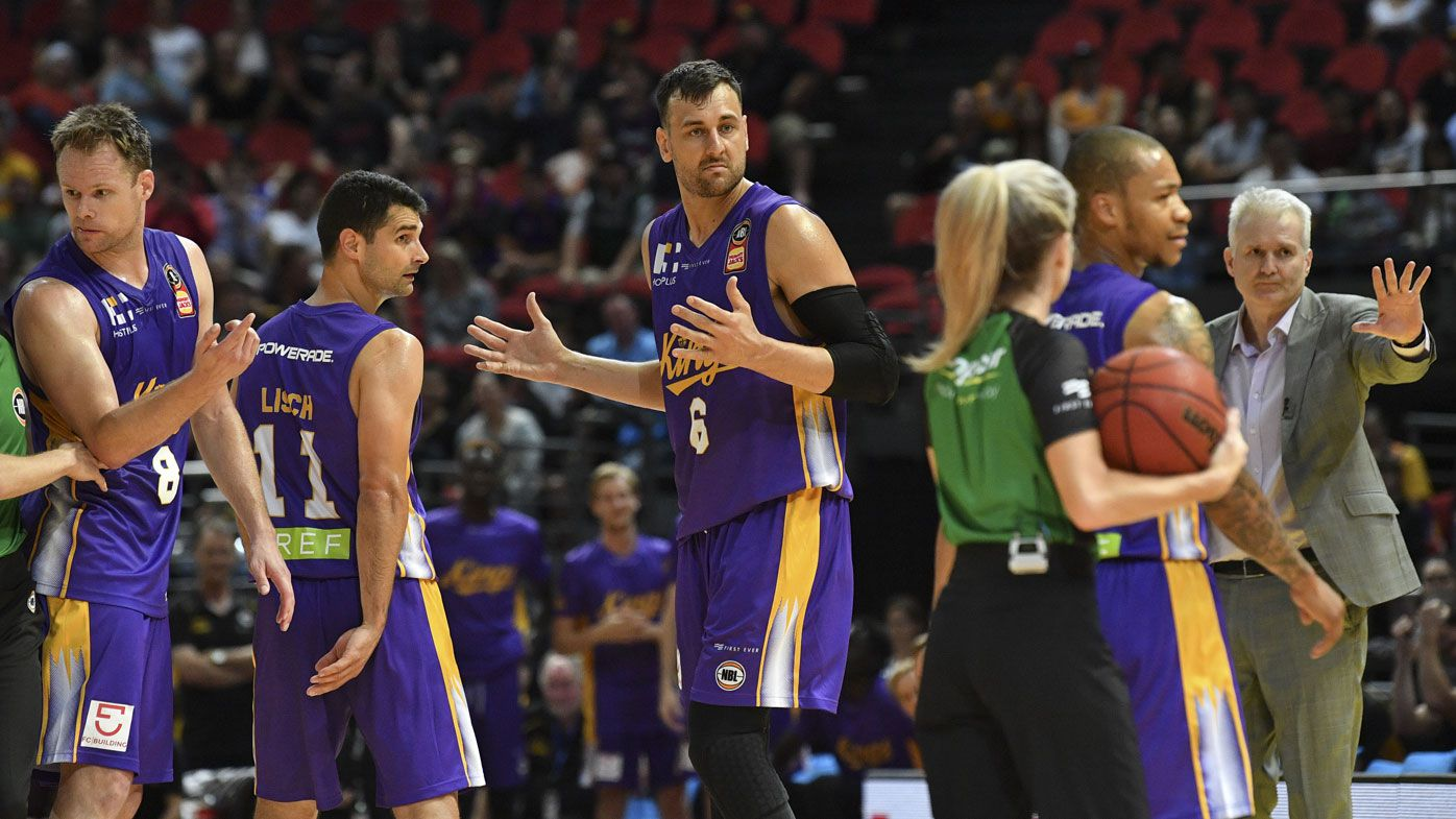Perth coach laughs off clash with 'boofhead' Bogut in loss to Sydney